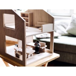 Haus18 Puppenhaus aus Holz
