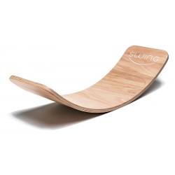 Swing Balance-Board aus Holz geölt